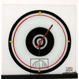 Hodiny malované kruhy