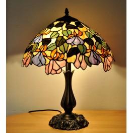 Lampa v květu